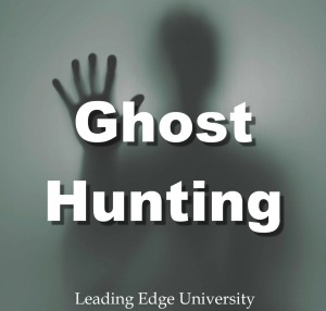 Ghost hunting paranormal investigation certified ghost hunter